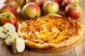 Картинка яблоки, еда, пирог, фрукты, десерт, выпечка