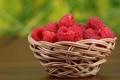 Картинка ягоды, малина, корзинка, berries, basket, raspberries
