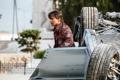 Картинка авария, кадр, автомобиль, Том Круз, Tom Cruise, Ethan Hunt, Mission: Impossible - Rogue Nation