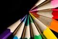 Картинка фон, карандаш, макро, цвет