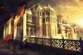 Картинка окна, лампа, Персия, Пески, дворец, башни, Забытые