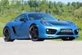 Картинка машина, Porsche, Cayman, порше, передок, SpeedART, SP81-CR