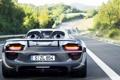 Картинка дорога, Porsche, порше, Spyder, 918, гибрид, hybrid