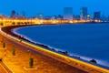 Картинка огни, здания, Индия, набережная, India, Mumbai, Мумбаи
