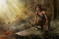Картинка девушка, пистолет, оружие, Tomb Raider, Расхитительница гробниц
