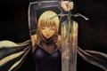 Картинка девушка, меч, доспех, claymore