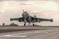 Картинка самолёт, взлет, Prowler, палубный, EA-6B