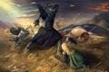Картинка воин, фэнтези, Властелин Колец, fantasy, принцесса, The Lord of the Rings, John Ronald Reuel Tolkien