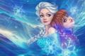 Картинка Frozen, Anna, Elsa, Холодное сердце