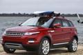 Картинка red, range rover, evoque