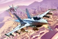 Картинка город, самолеты, америка, лос сантос, gtа5