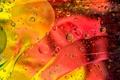 Картинка свет, линии, пузырьки, цвет