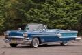 Картинка кабриолет, Pontiac, Понтиак, передок, Convertible, 1958, Parisienne