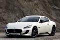 Картинка белый, Maserati, GranTurismo, мазерати, Sport, грантуризмо, MC line