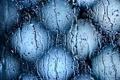 Картинка капли, дождь, ливень, вода, свет, стекло, потоки