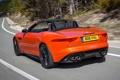Картинка задок, авто, кабриолет, V8 S, скорость, Jaguar, F-Type