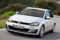 Картинка авто, белый, Volkswagen, передок, Golf, GTI, 5-door
