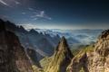 Картинка природа, пейзаж, горы, панорама, долина