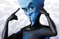 Картинка взгляд, синий, Megamind, Мегамозг