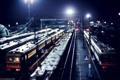 Картинка ночь, вокзал, поезда, Владимир Смит, Vladimir Smith, Калуга-1