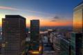 Картинка sunset, city, river, london
