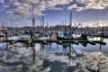 Картинка лодки, причал, United States, Oregon, Charleston