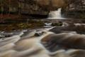 Картинка река, течение, водопад