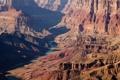 Картинка Америка, каньон, река, скалы, останцы
