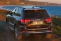 Картинка обои, джип, вид сзади, Jeep, Grand Cherokee, Summit