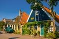 Картинка город, фото, дома, Нидерланды, Den Hoorn Texel