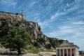 Картинка перистые облака, небо, церковь Святого Георгия, история, скала, Старая крепость, отвесная