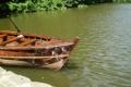 Картинка вода, свет, природа, лодка, водоем
