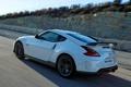 Картинка дорога, блики, скорость, Nissan, 370Z, Nismo