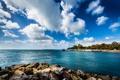 Картинка sky, sea, blue, water, clouds, rocks