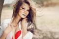 Картинка девушка, портрет, макияж, азиатка