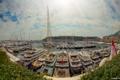 Картинка яхты, панорама, Monaco, гавань, Монако, Monaco Yacht Show 2013