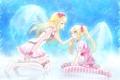 Картинка девушки, крылья, арт, aoi, kiyokiyoaomushi