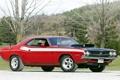 Картинка тюнинг, 1971, Dodge, Challenger, мускул кар, додж, классика