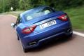 Картинка синий, Maserati, вид сзади, GranTurismo, Sport