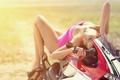 Картинка девушка, тело, брюнетка, мотоцикл, байк, ножки, в розовом