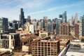 Картинка город, дома, небоскребы, Чикаго