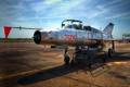 Картинка самолёт, MiG-21, оружие