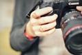 Картинка макро, рука, Canon