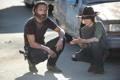 Картинка The Walking Dead, Carl Grimes, Ходячие мертвецы, Andrew Lincoln, Рик Граймс