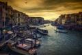 Картинка город, канал, venezia