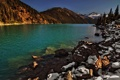 Картинка камни, горы, озеро