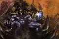 Картинка арт, скелет, нежить, Skeletor, Dave Wilkins