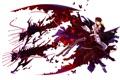 Картинка собаки, девушка, бабочки, аниме, парень, ushiromiya rosa, когда плачут чайки