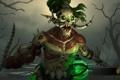 Картинка hon, Cesspool, Bushwack, череп, магия, Heroes of Newerth, труп