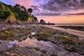 Картинка lee bay, rock, atlantic ocean, england, coast